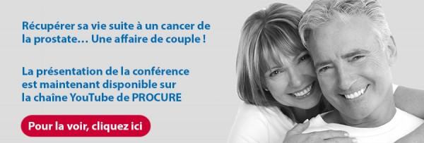 Récupérer sa vie suite à un cancer de la prostate… Une affaire de couple !