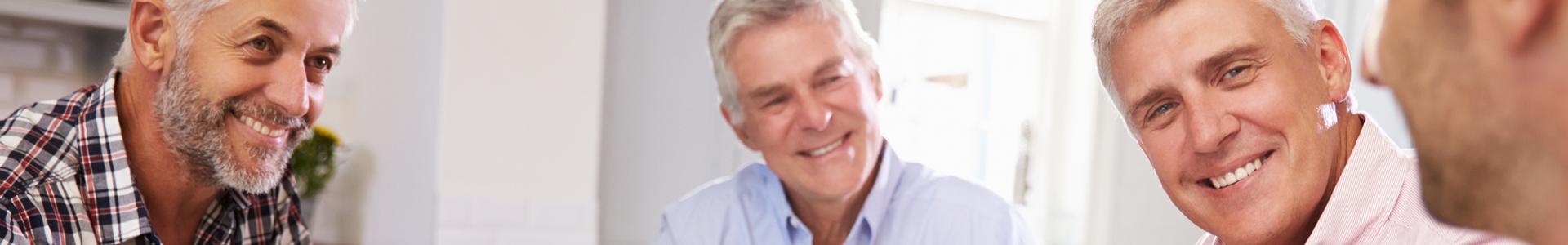 groupe-homme avec cancer prostate