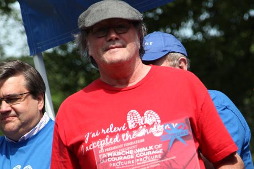 bénévole de l'année Ghislain Lapointe cancer prostate