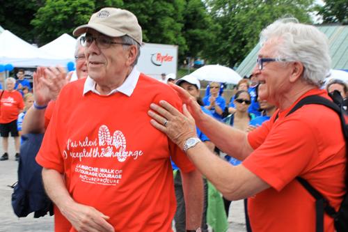bénévole de l'année Gaspard Fauteux cancer prostate
