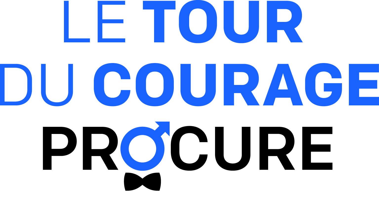 Logo Tour du Courage PROCURE