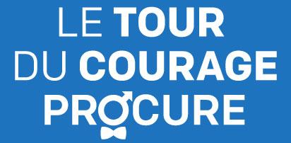 Logo Tour du Courage PROCURE-renverse