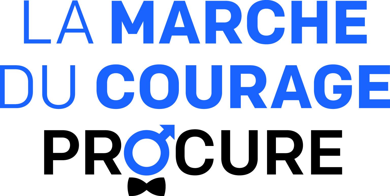 Logo Marche du Courage PROCURE