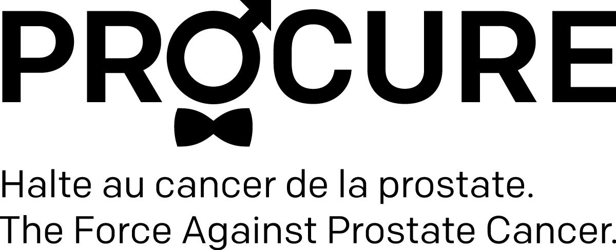 Logo PROCURE avec les 2 phrases-noir