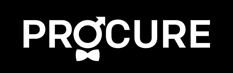 Logo PROCURE sans les 2 phrases-renverse-noir