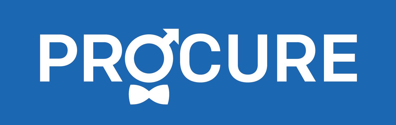 Logo PROCURE sans les 2 phrases-renverse-bleu