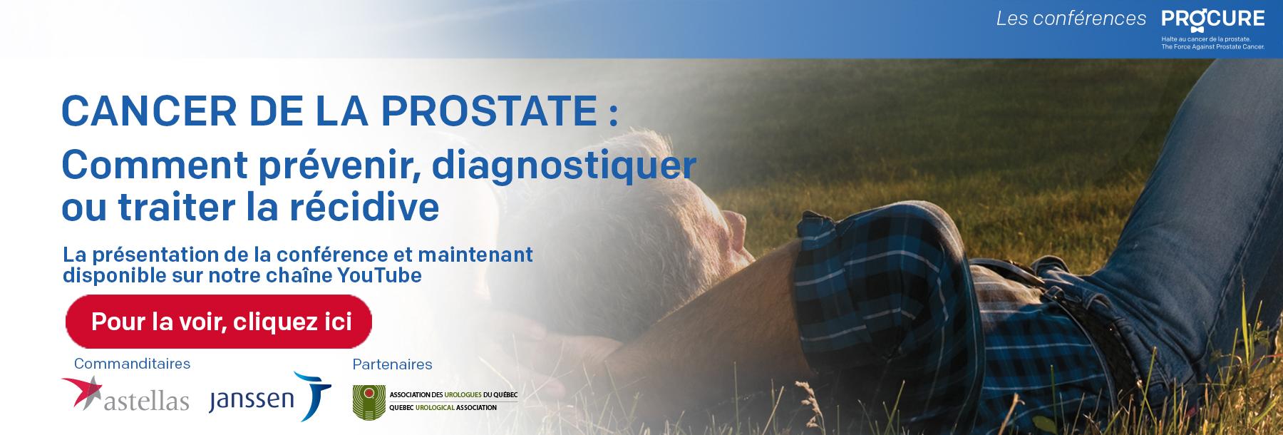 conference-PROCURE-cancer-prostate-2017-la récidive-avec-FredericPouliot