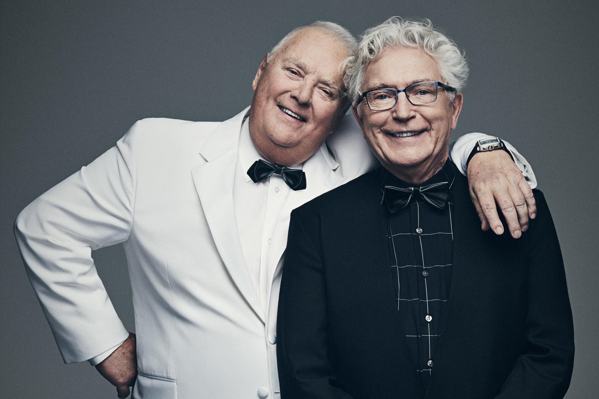 Winston et Jean en 2017