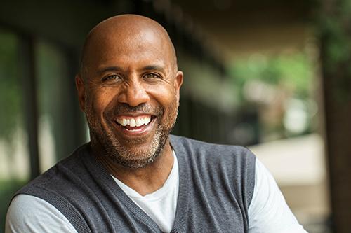 Homme noir à risque de développer un cancer de la prostate
